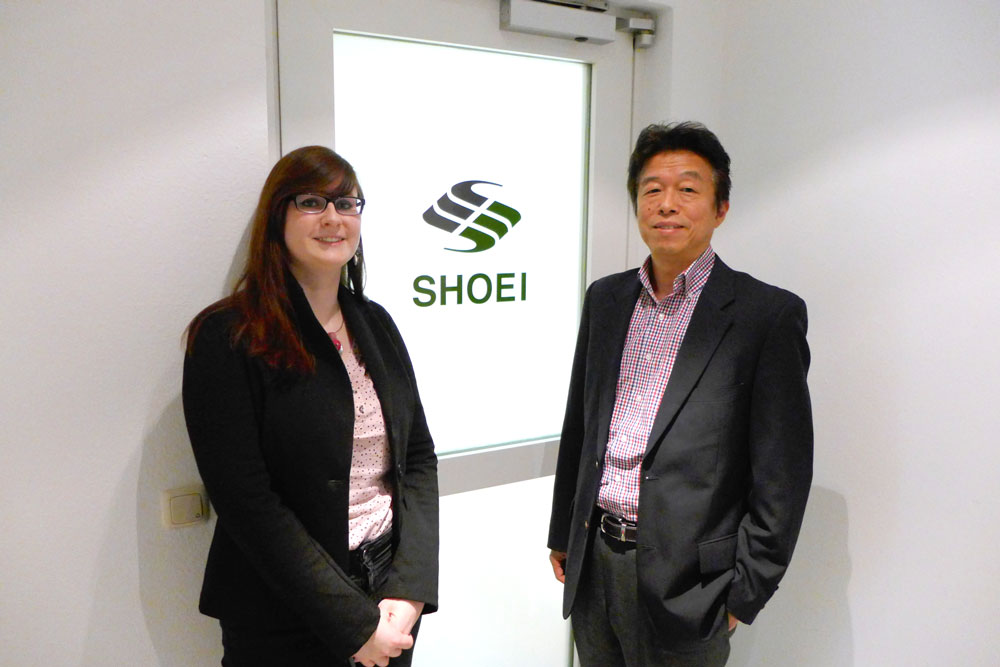 SHOEI Electronic Component GmbH 開業