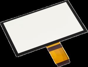 光学フィルム+ガラスセンサー(一体型タッチパネル)