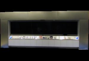 赤外線カメラ方式タッチパネル